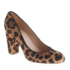 J.Crew Collection Leopard Heels